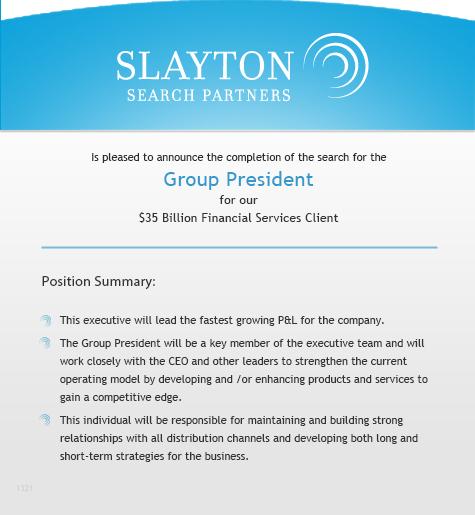 Group President
