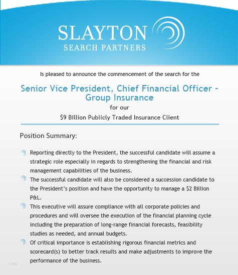 Senior Vice President, Chief Financial Officer