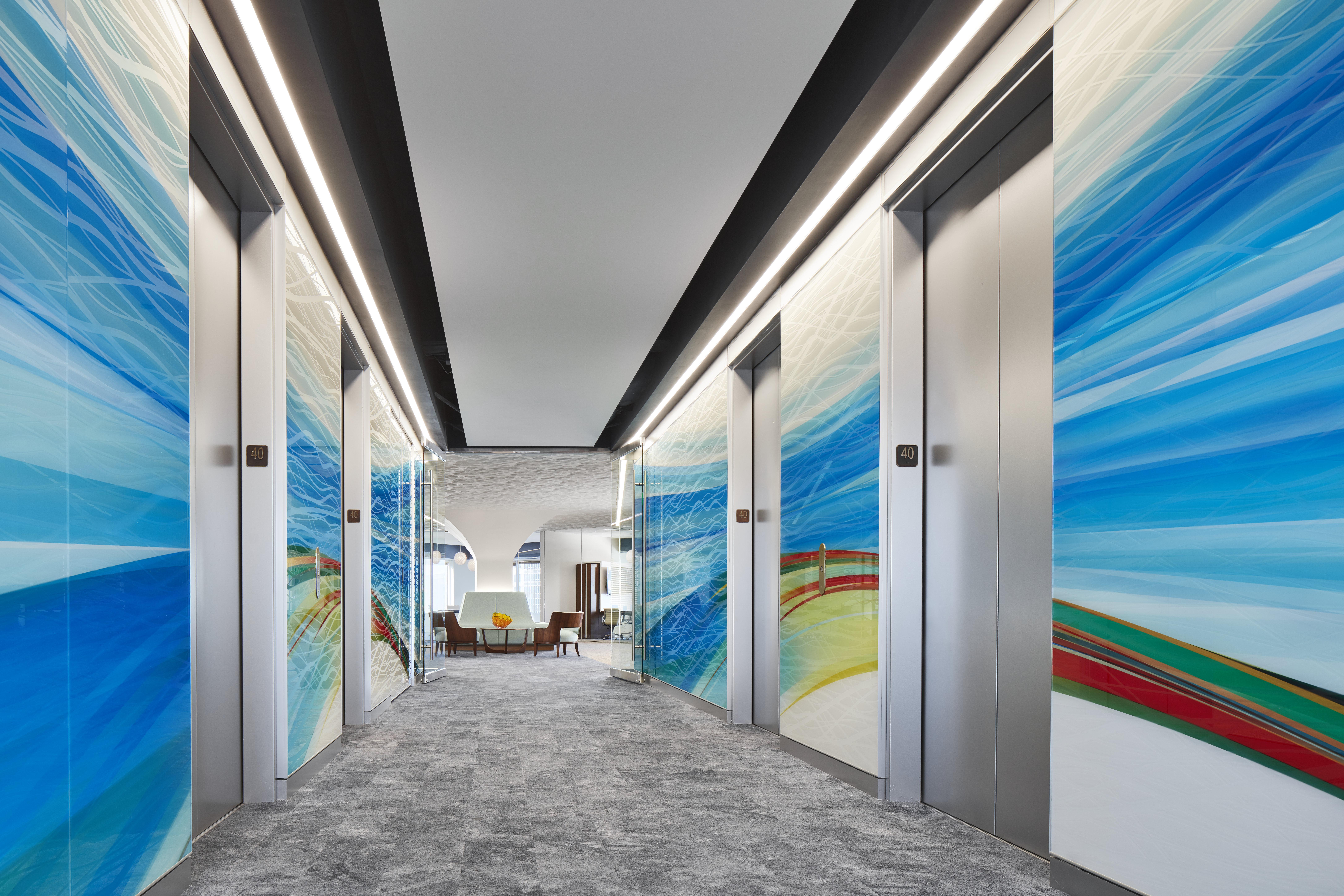 Slayton Elevator Lobby